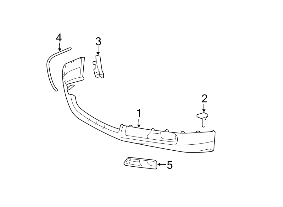 Toyota Camry Bumper Protection Pad  2007